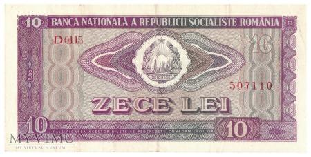 Rumunia - 10 lei (1966)