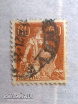 Helvetia - Szwajcaria 60 Ct. Centym szwajcarski