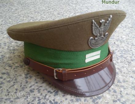 Czapka garnizonowa kaprala WOP - ZSW