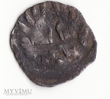 Denar Brandenburgia Margrabia Otto IV i Konrad