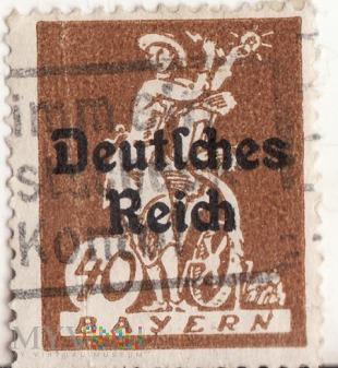 Bayern - 40 - Deutsches Reich 1920