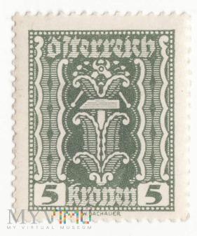Znaczki Austria Österreich rok 1922/3