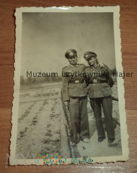 Zdjęcie żołnierki Kobieta żołnierz niemiecki