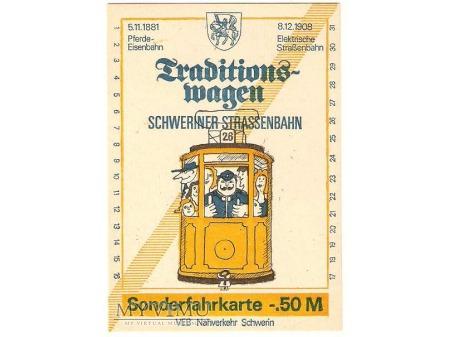 Bilet ze Schwerinu (Niemcy)