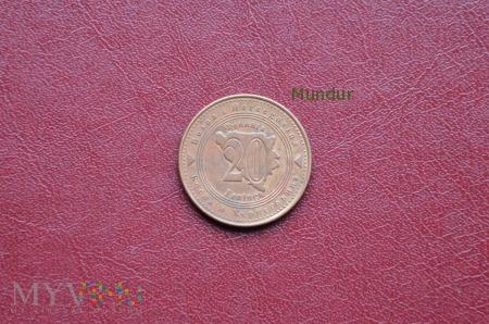 Moneta bośniacka i hercegowińska: 20 feninga