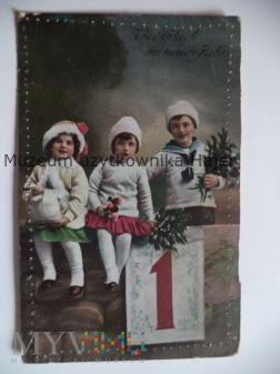 Viel Glück im neuer Jahr Życzenia Noworoczne