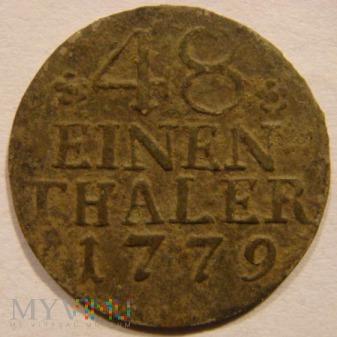 48 EINEN THALER 1779 A