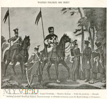 Duże zdjęcie Wojsko polskie 1831 roku - Eliasz