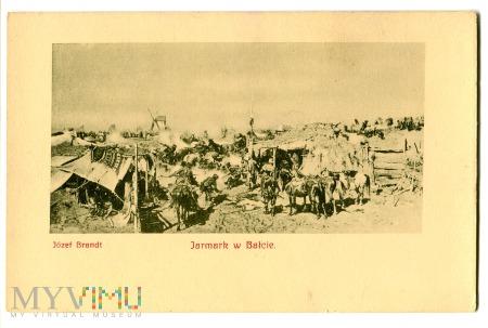 Duże zdjęcie Jarmark w Bałcie, Józef Brandt, c. 1910