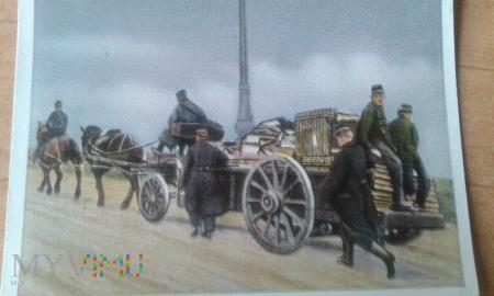 belgijskie dokumenty w drodze przez Francję