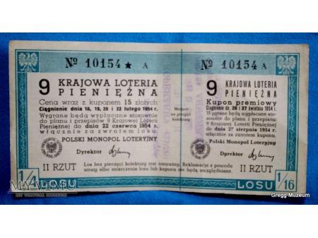 9 Krajowa Loteria Pieniężna