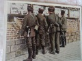 żołnierze czytają wieści z frontu