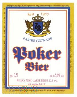 Poker bier