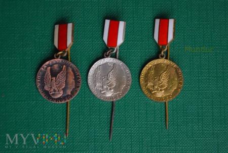 Medal za Zasługi dla Obronności Kraju - miniaturki