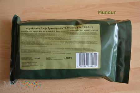 S-R-19 Indywidualna racja żywnościowa