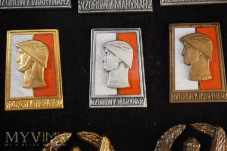 Duże zdjęcie Wzorowy Marynarz wzór 4 z 1973 r.