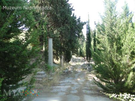 Efez poza szlakiem zapomniana ulica.