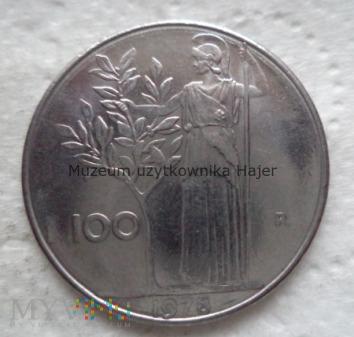 Włochy - 100 lirów - 1978 rok