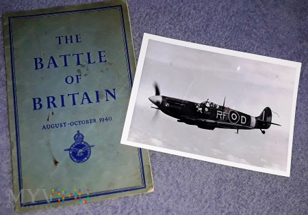 Spitfire MKV Jan Zumbach - Bitwa o Anglię
