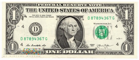 Stany Zjednoczone - 1 dolar (2013)