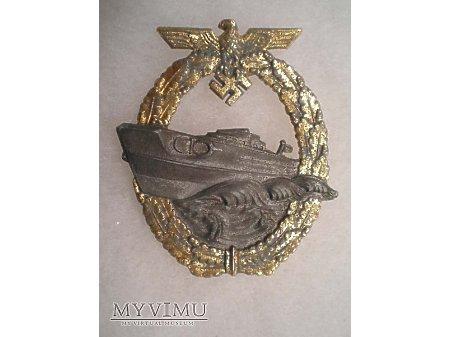 Kriegsmarine Odznaka Kuter Patrolowy