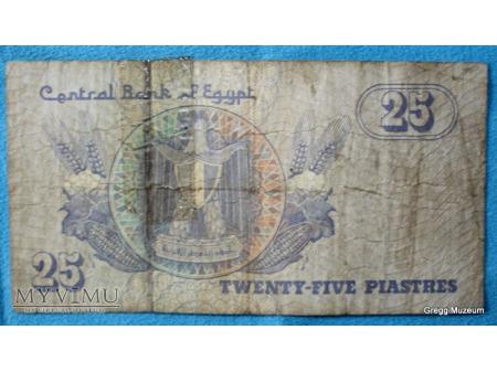 Duże zdjęcie 25 PIASTRES - EGIPT