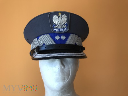 Czapka generalnego inspektora Policji