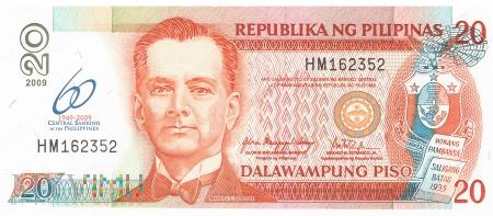 Filipiny - 20 pesos (2009)