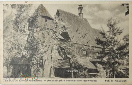 Bytom - Kościół drewniany w parku
