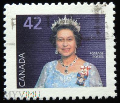 Kanada 42c Elżbieta II