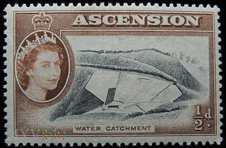 Wyspa Wniebowstąpienia Ascension 1/2p Elżbieta II