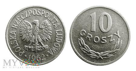 Duże zdjęcie 10 groszy, 1962