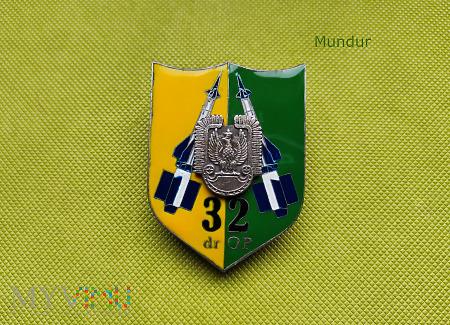 Odznaka pamiątkowa 32 dywizjonu rakietowego OP