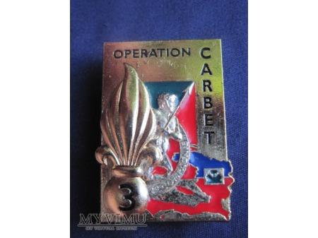 2e compagnie du 3e R.E.I., opération CARBET 2004