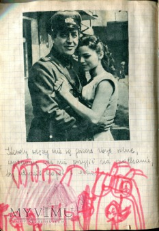 James Dean Marina Vlady + scrapbooking