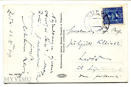 1929 Ludwik Stasiak Kolędnicy Święta Noc