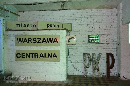 Tablice z dworca Centralnego