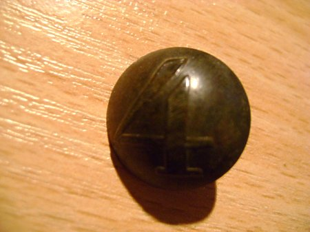Duże zdjęcie pruski guzik kompanijny nr 4