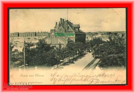TORUŃ Thorn, Dworzec kolejowy