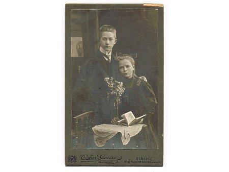 Duże zdjęcie Rodzeństwo Karl i Anna Grohs