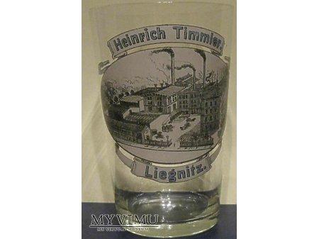 H.Timmler Liegnitz - szklanka okolicznościowa