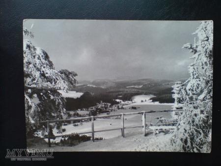 1972 Góry Stołowe Taras Szczeliniec Wielki