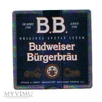 original světly ležák budweiser bürgerbräu