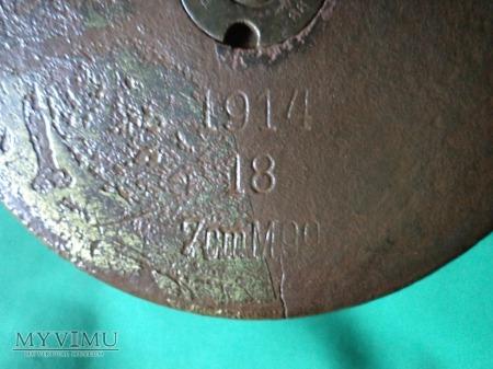 Carski szrapnel górski 75 mm.