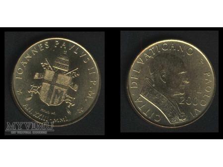 200 lirów IOANNES PAVLUS II P.M. AN.XXIII-MIMI