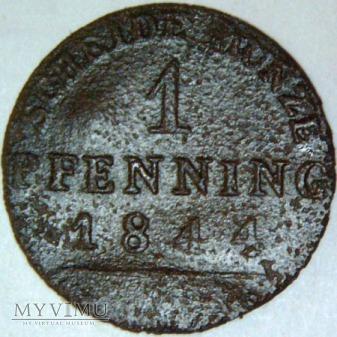 Fryderyk Wilhelm IV 1841-1861- 1 PFENNING 1844