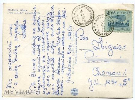Perła Zachodu k. Jeleniej Góry - schronisko 1965