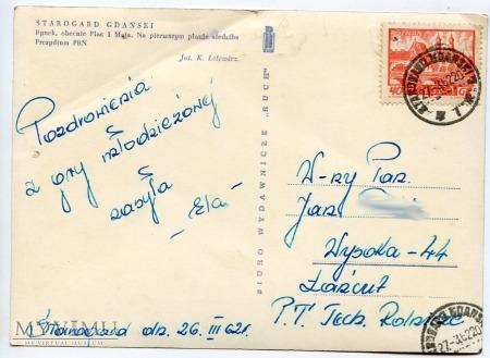 Starogard Gdański - Rynek - 1962