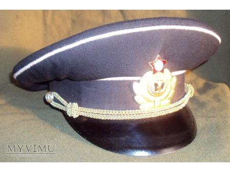 Czapka oficera młodszego MW ZSRR