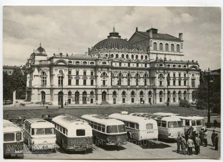 Kraków - Teatr Miejski - Słowackiego - lata 60-te